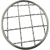 Shinny Metal Frog Lid Insert Grid Organizer for Mason, Ball, Canning Jars (6 Pack, Regular Mouth)