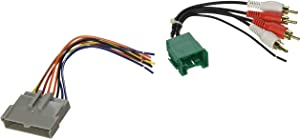 SCOSCHE FDK7B 1998-04 Ford Premium Sound Retention Wire Harness kit; Power and RCA to Dash/Amp Input