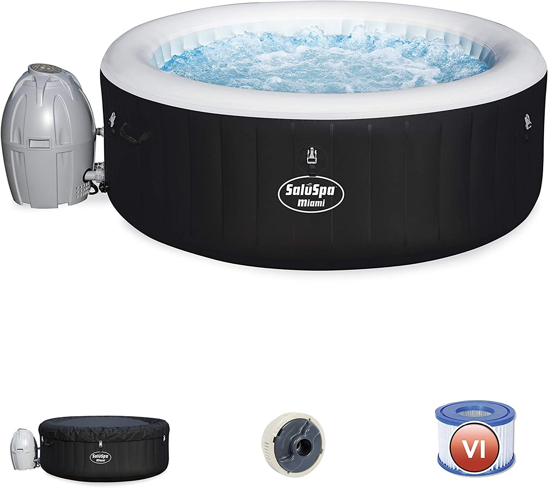 3. BESTWAY SALUSPA Miami Inflated Hot Tub