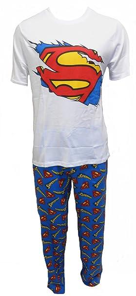 DC Comics - Pijama - para hombre azul azul Medium