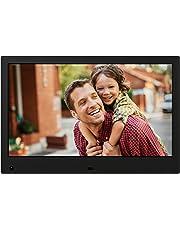 NIX Advance Marco Digital Fotos y Videos 13 Pulgadas X13C. Pantalla IPS. Portafotos Electrónico USB, SD/SDHC. Portarretratos con Sensor de Movimiento. 8GB USB Incluido