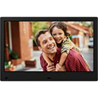 NIX Advance Digital Photo Frame 13 inch X13C. Electronic Photo Frame USB SD/SDHC. Clock and Calendar Function. Digital Picture Frame with Motion Sensor. Remote Control and 8GB USB Stick Included