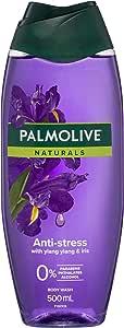 Palmolive Naturals Anti-Stress Body Wash With Ylang Ylang and Iris 0% Parabens Recyclable, 500mL