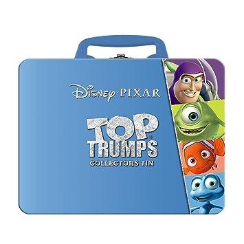 Top Trumps Pixar coleccionistas Tin – Set de Juego de Cartas