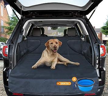 Telo auto per cani materiale di alta qualit/à sporcizia e peli raccoglie umidit/à protezione portabagagli per tutte le auto copertura stabile con protezione laterale 185*105*36 cm di SMARTPEAS