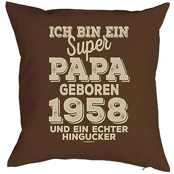 Veri Zum 60 Geburtstag Papa Geschenk Fur Ihn Mann Deko Kissenbezug