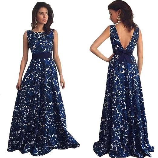 abcnature Women Sexy Dress,Floral Long Formal Prom Dress Party Ball Gown Evening Wedding Dress
