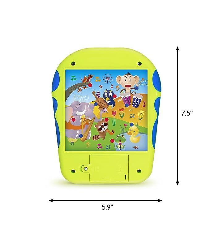 Boxiki Kids Tablet Educativa de Juguete para el Aprendizaje del Español Alfabeto Español de Juguete Toca y Aprende con Aprendizaje de Números en Español, ...