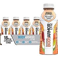 12-Pack Bodyarmor Lyte Low-Calorie Sports Drinks, 16oz