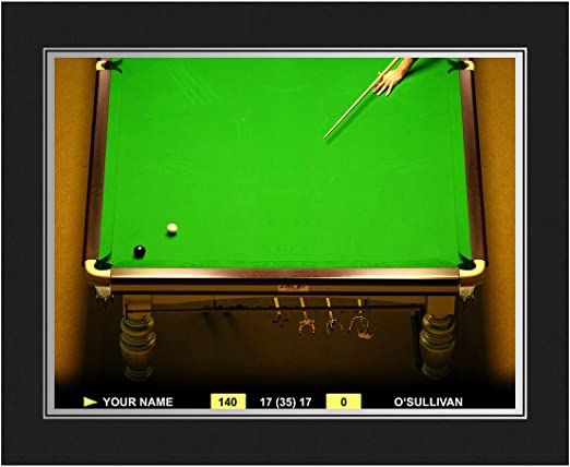 Regalo de impresión de personalizable Snooker – carpeta de ...