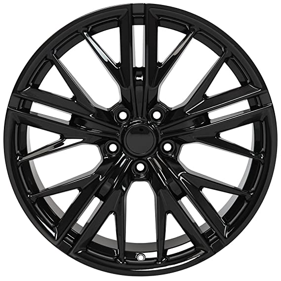 Amazon Com Oe Wheels 20 Inch Fits Chevy Camaro Zl1 Style Cv25 Gloss