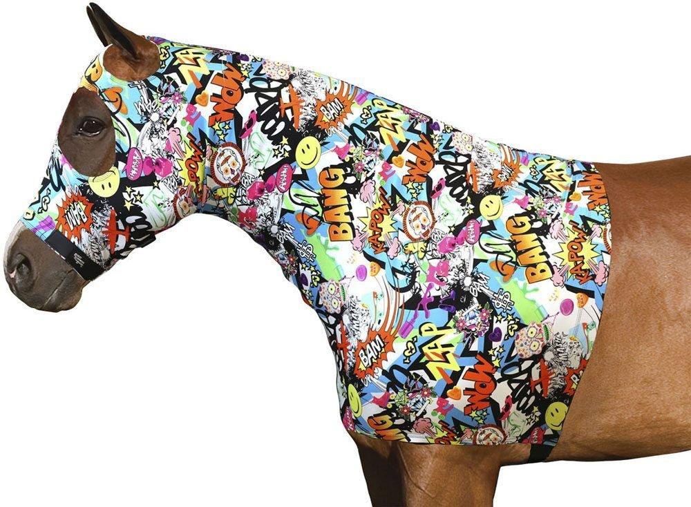 Sleazy Sleepwear Lycra Hood - Fun Prints