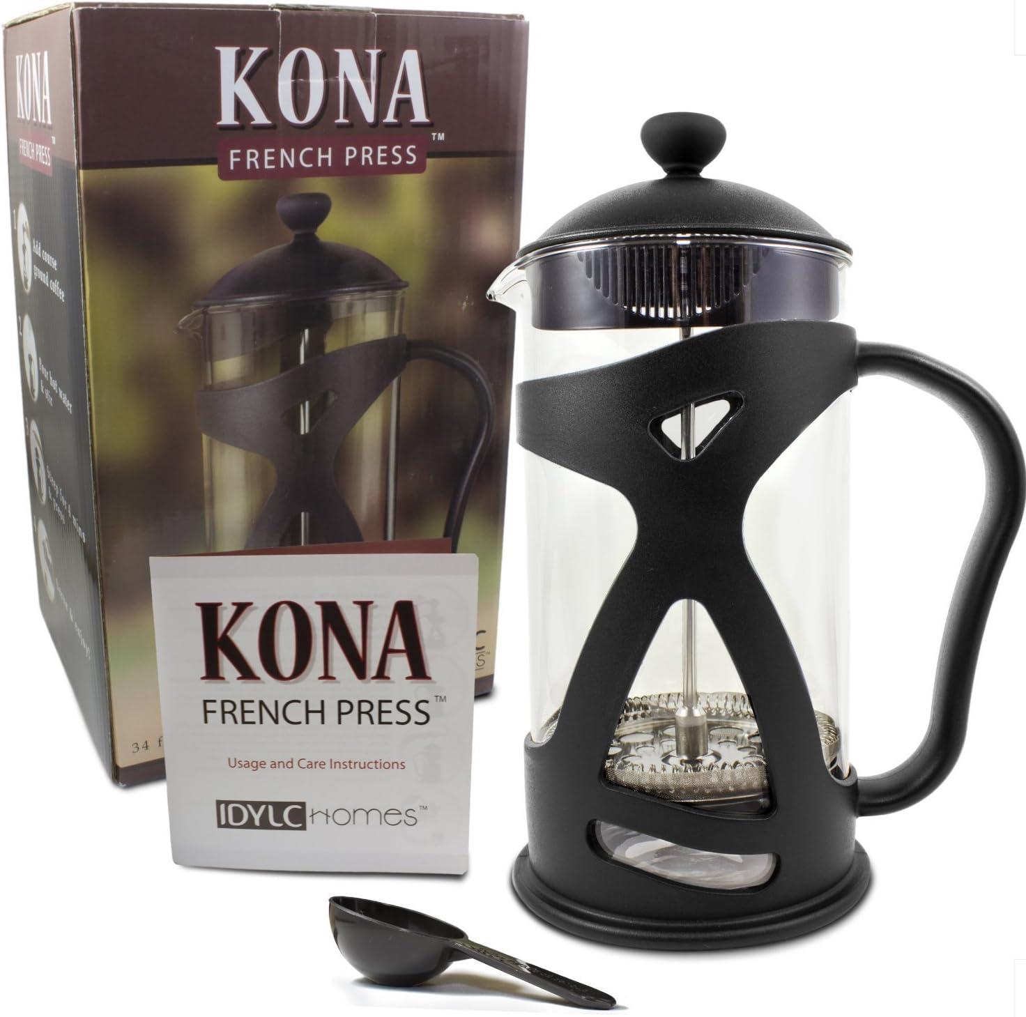 Kona prensa francesa café té & Espresso eléctrica ~ mejor Present ...