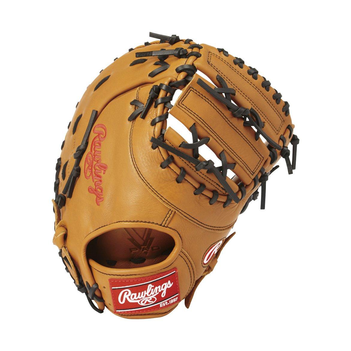 Rawlings(ローリングス) ソフトボール用 ソフト HYPER TECH DP[ファースト用] GS8HT3ACD B075Z4QW4G [サイズ 12.5] [12 1/2inch] LH(Right hand throw)※右投用|リッチタン リッチタン [サイズ 12.5] [12 1/2inch] LH(Right hand throw)※右投用