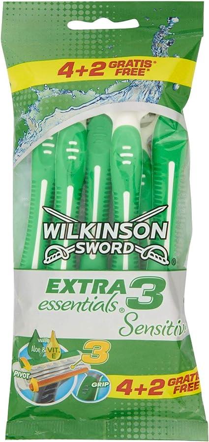 Wilkinson Sword - Afeitadora desechable extra 3 Essentials ...