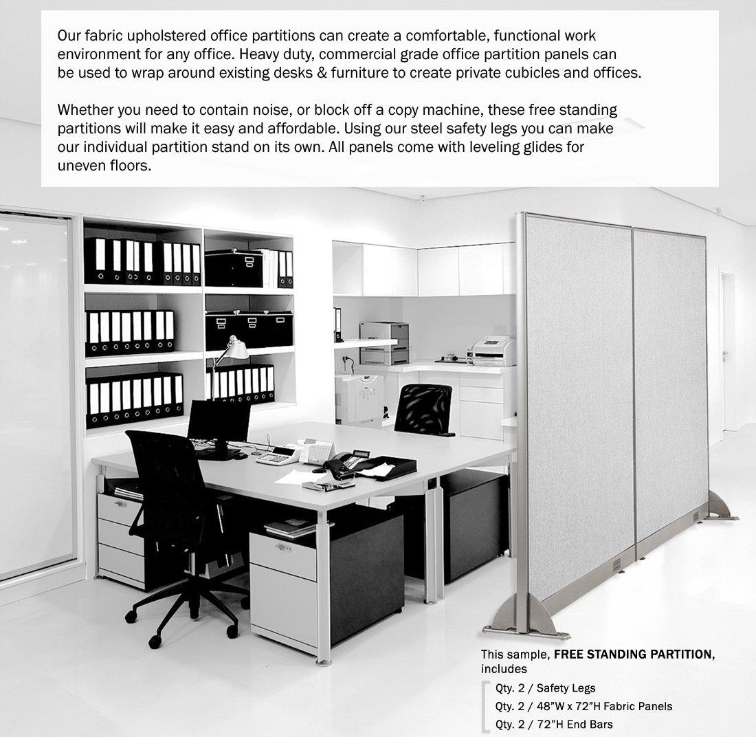 Amazon.com: GOF Office Freestanding Partition (72W X 72H): Kitchen U0026 Dining