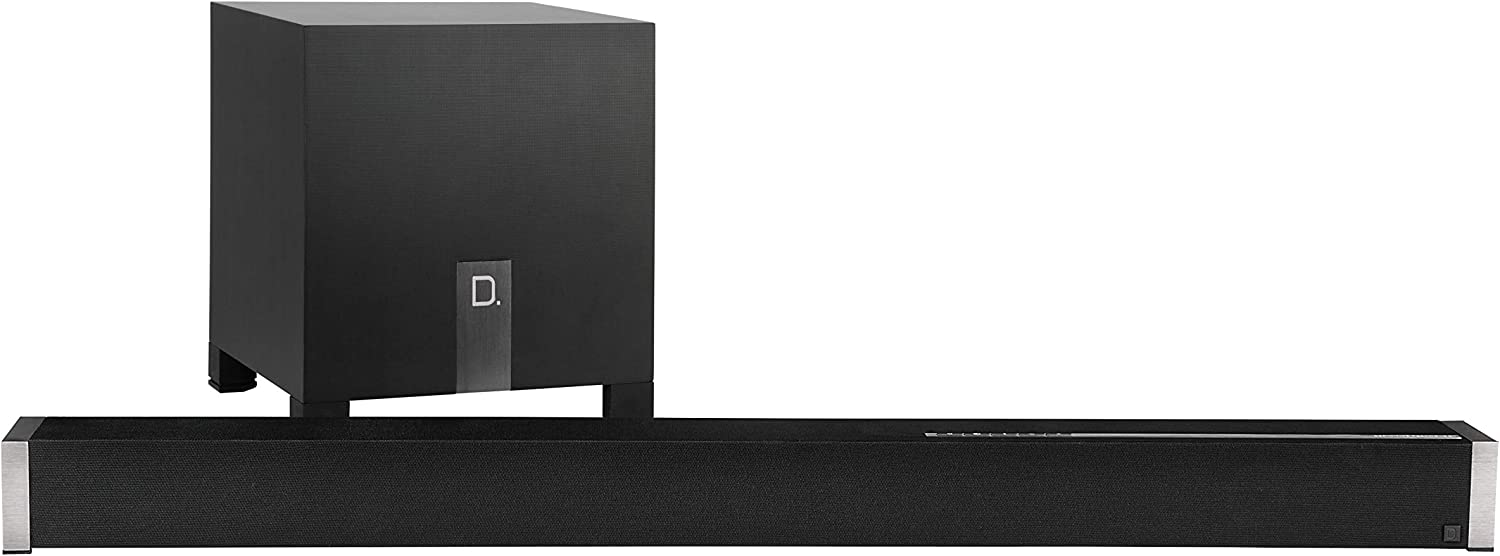 "Definitive Technology Studio Advance 5.1 Channel Sound Bar with 9 Speakers | Includes an 8"" Wireless Subwoofer 