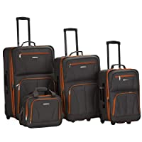 Deals on 4-Piece Rockland Journey Softside Upright Luggage Set