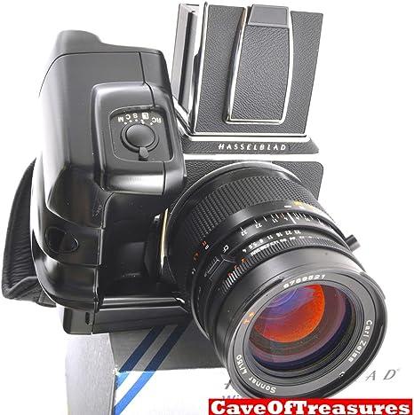 Menta Hasselblad 503 CW, Winder CW, última A12, 150 mm CF Lente ...