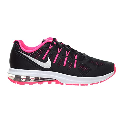 on sale b55dd 1fe37 Nike Air Max Dynasty (GS) Big Kid s Shoes Black Metallic Silver Hyper  Pink Wolf Grey 820270-003 (7 M US)  Buy Online at Low Prices in India -  Amazon.in