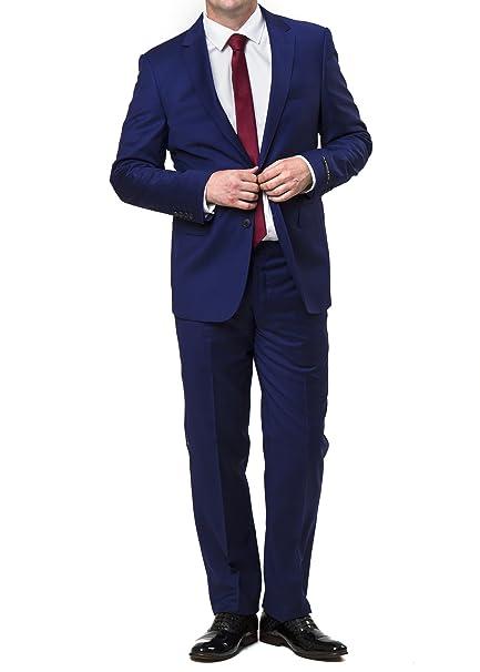 Amazon.com: Niebla de Londres de los hombres Savy Slim Fit ...