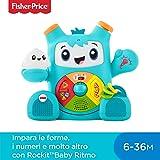 Fisher-Price Rockit Baby Ritmo, Giocattolo Elettronico Educativo per Bambini dai 6 Mesi, con Musica e Suoni (Versione Italiana), FXD04