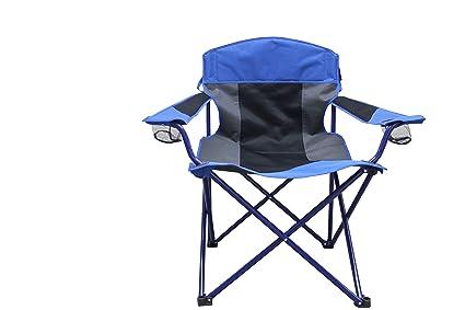 ac99c116d0d Outdoor Spectator Super Oversized Cool Mesh XXL Big Boy 500 lb. Capacity Folding  Camp Chair
