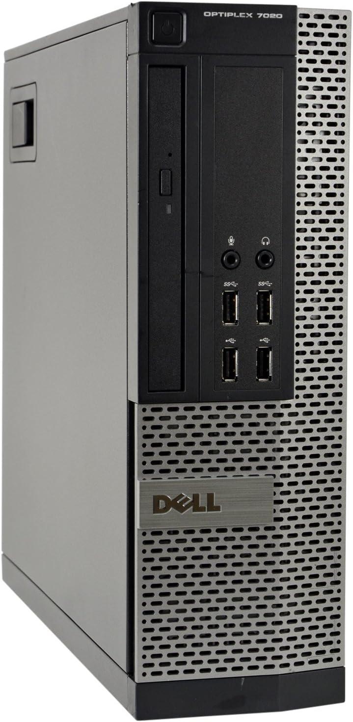 Dell Optiplex 7020-SFF, Core i5-4590 3.3GHz, 8GB RAM, 480GB Solid State Drive, DVDRW, Windows 10 Pro 64Bit (Renewed)