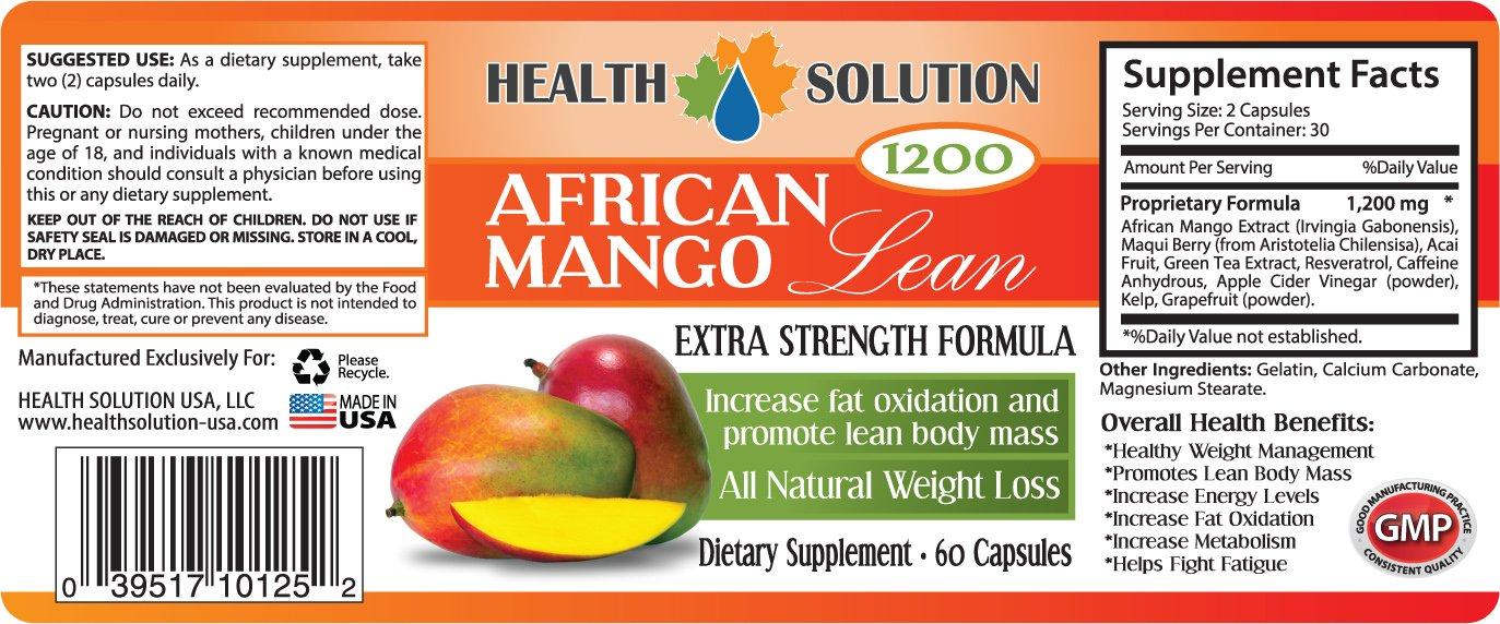 Amazon.com: Garcinia Cambogia, mango africano. Combo (3 + 3 ...