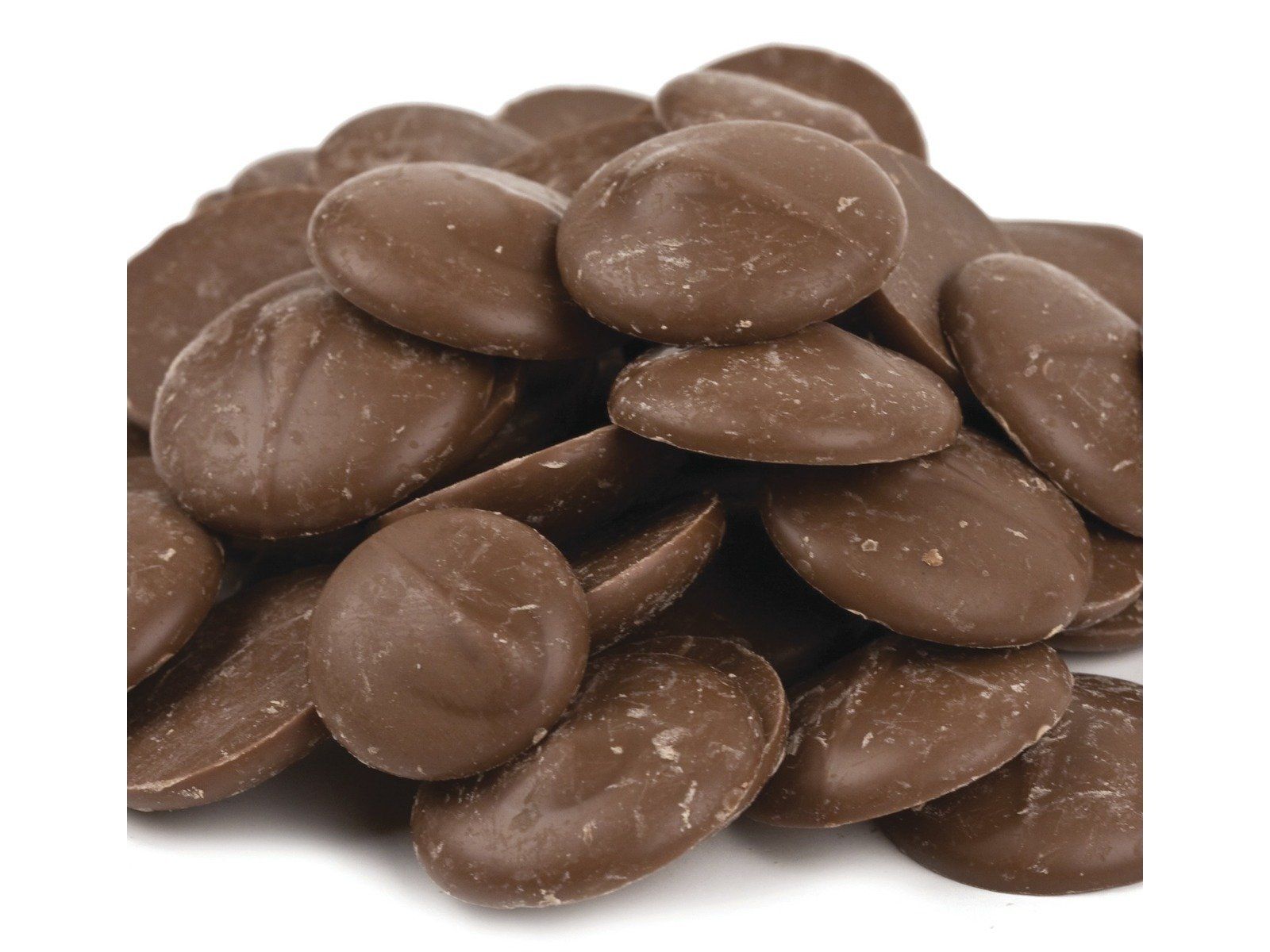 Merckens Coating Melting Wafers Milk Chocolate cocoa lite 10 pounds by Merckens