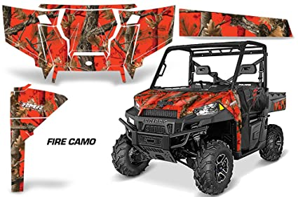Amazon com: AMRRACING Polaris Ranger 900 570 2016 Full