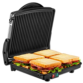 Kealive Grill, 1200 W Panini Press Grill, acero inoxidable ...