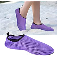 Tbest Calcetines de Buceo,Calcetines de Agua de Snorkel Nylon Zapatos de Agua Escarpines de Secado Rápido Antideslizante Calzado de Buceo para Playa Natación Surf Deportes para Adulto
