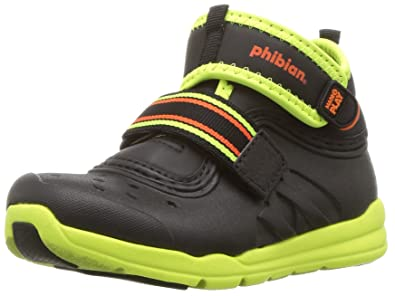 5d1c00f3fd6d4b Stride Rite Boys  Made 2 Play Phibian Mid Ankle Boot