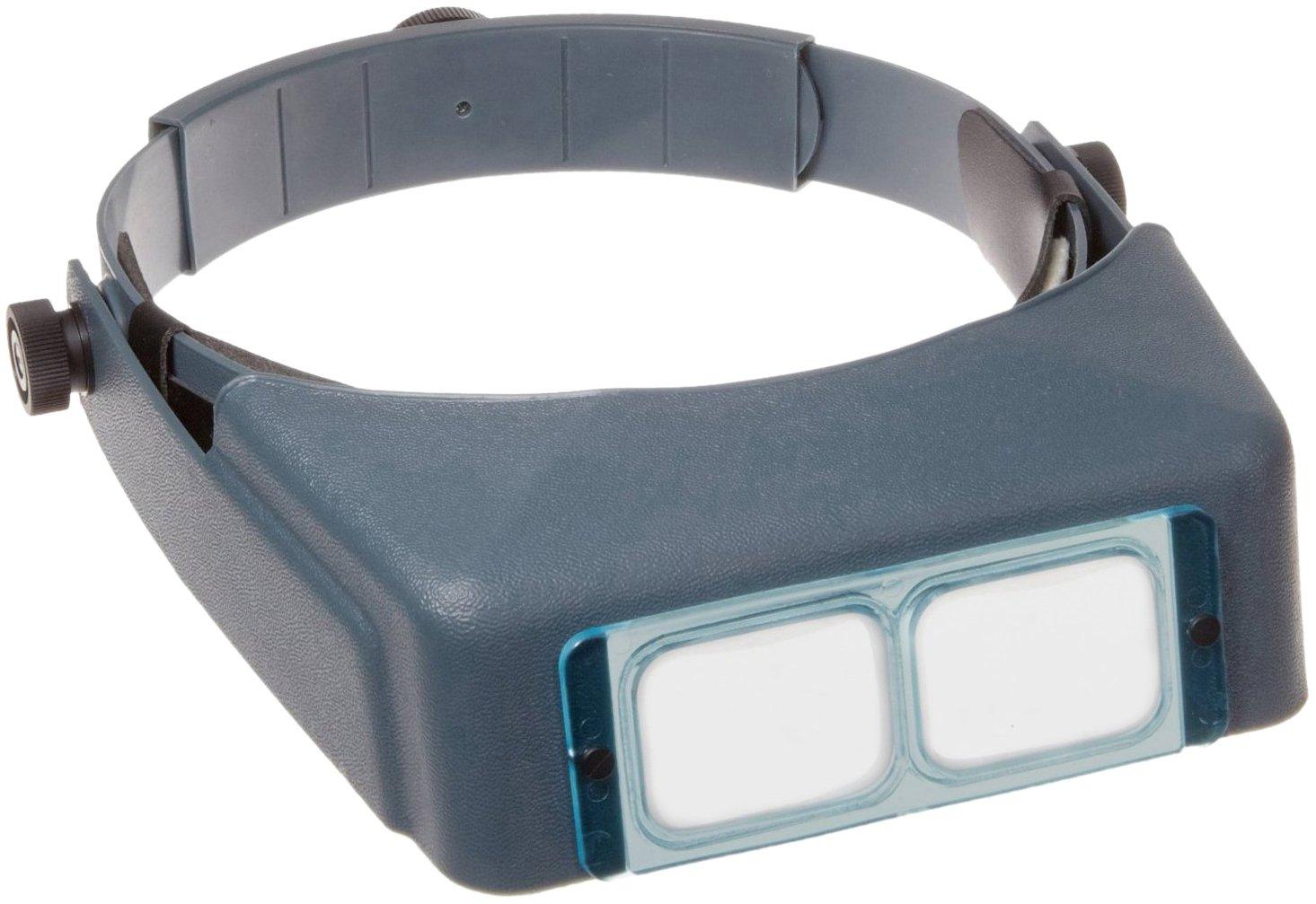 Donegan DA-3 OptiVISOR Headband Magnifier, 1.75X Magnification Glass Lens Plate, 14 Focal Length 14 Focal Length Donegan Optical 633096000489