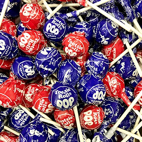Tootsie Pops 60 pops (Cherry And Grape) (Cherry Tootsie Roll Pops)