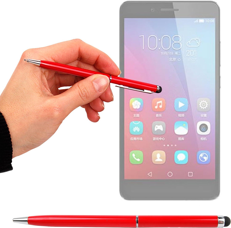 DURAGADGET Lápiz Stylus Negro + Bolígrafo (2 En 1) para Smartphone ...