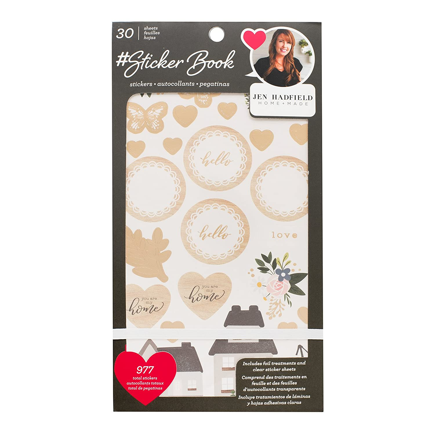 Arts,crafts & Sewing Scrapbooking & Stamping Lovely Life Gold Foil Paper Sticker For Scrapbooking Diy Projects/photo Album/card Making Crafts 100% Guarantee