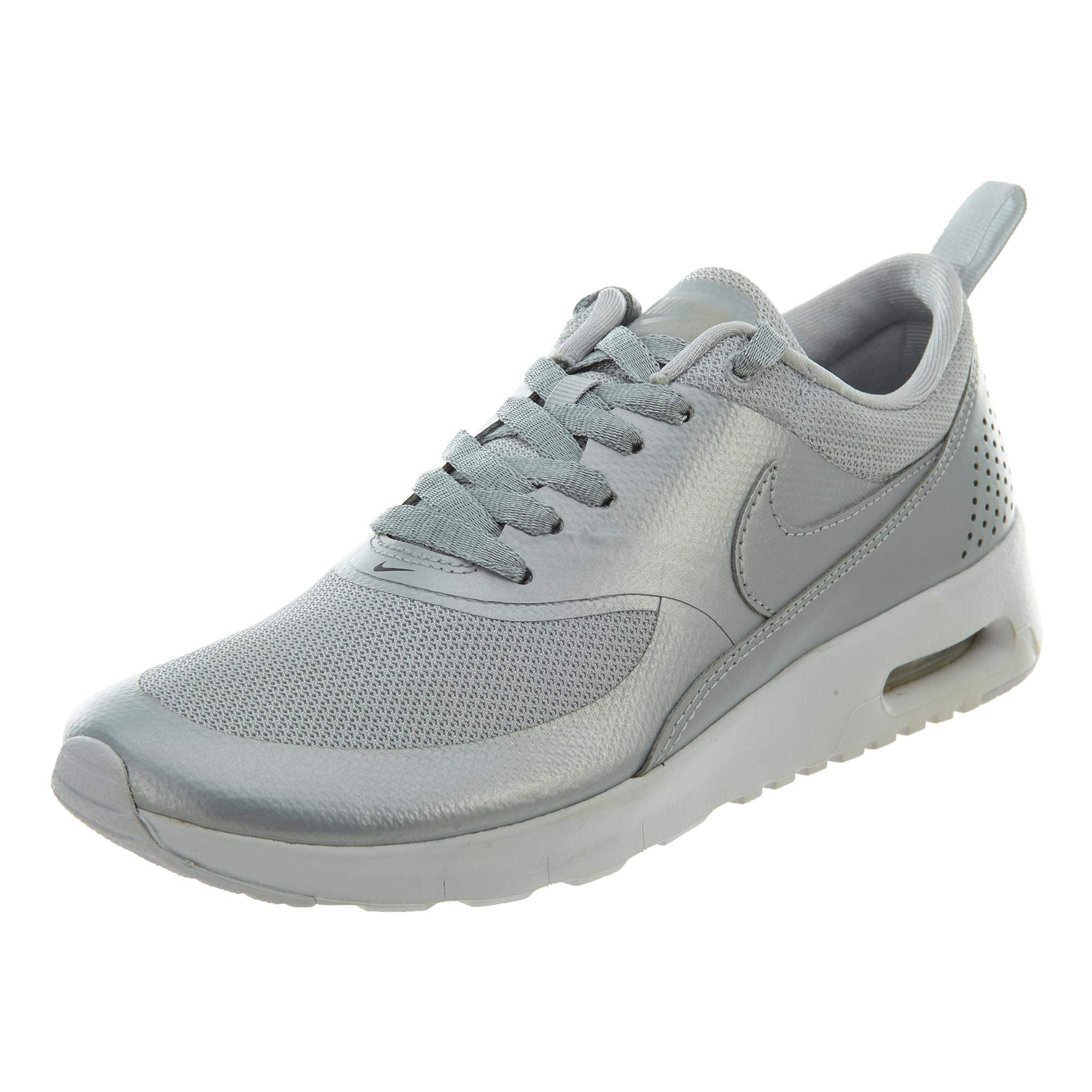 c509f58aa2 Galleon - Nike Girls Air Max Thea Metallic Platinum/Ankle-High Running Shoe  - 5M