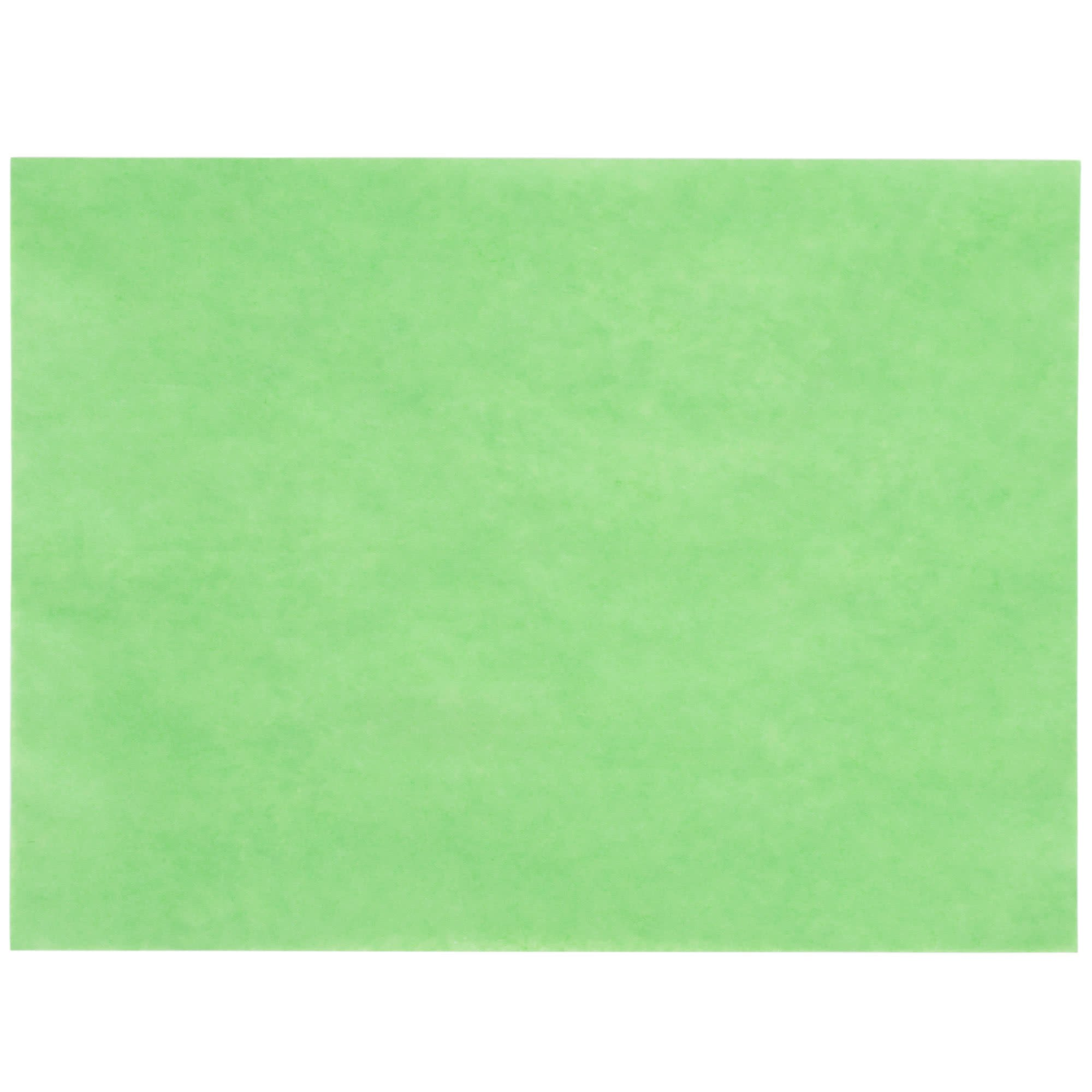 GreenTreat Steak Paper Sheets - 1000/Case 9'' x 12'' 40# By TableTop King