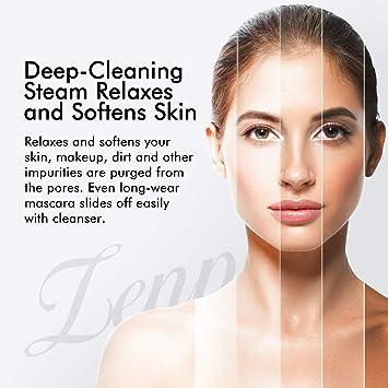 Amazon.com: Zenpy Facial Steamer Nano Ionic Hot Mist Face Steamer Home  Sauna SPA Face Humidifier Atomizer Sprayer for Women Men Moisturizing  Unclogs Pores Spa Quality: Beauty