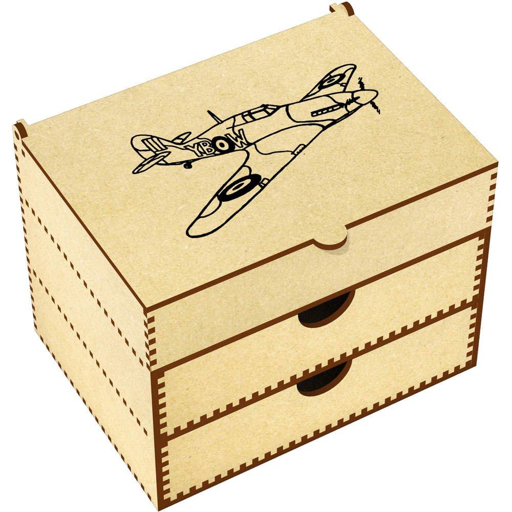 Azeeda 'Hurricane Plane' Vanity Case / Makeup Box (VC00007477)