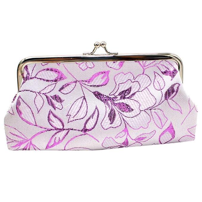 Amazon.com: Byyong - Bolso de mano para mujer, diseño retro ...