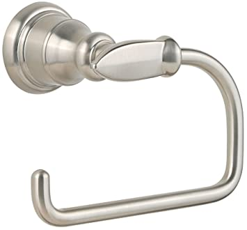 Pfister Avalon Toilet Tissue Holder Brushed Nickel Toilet Paper