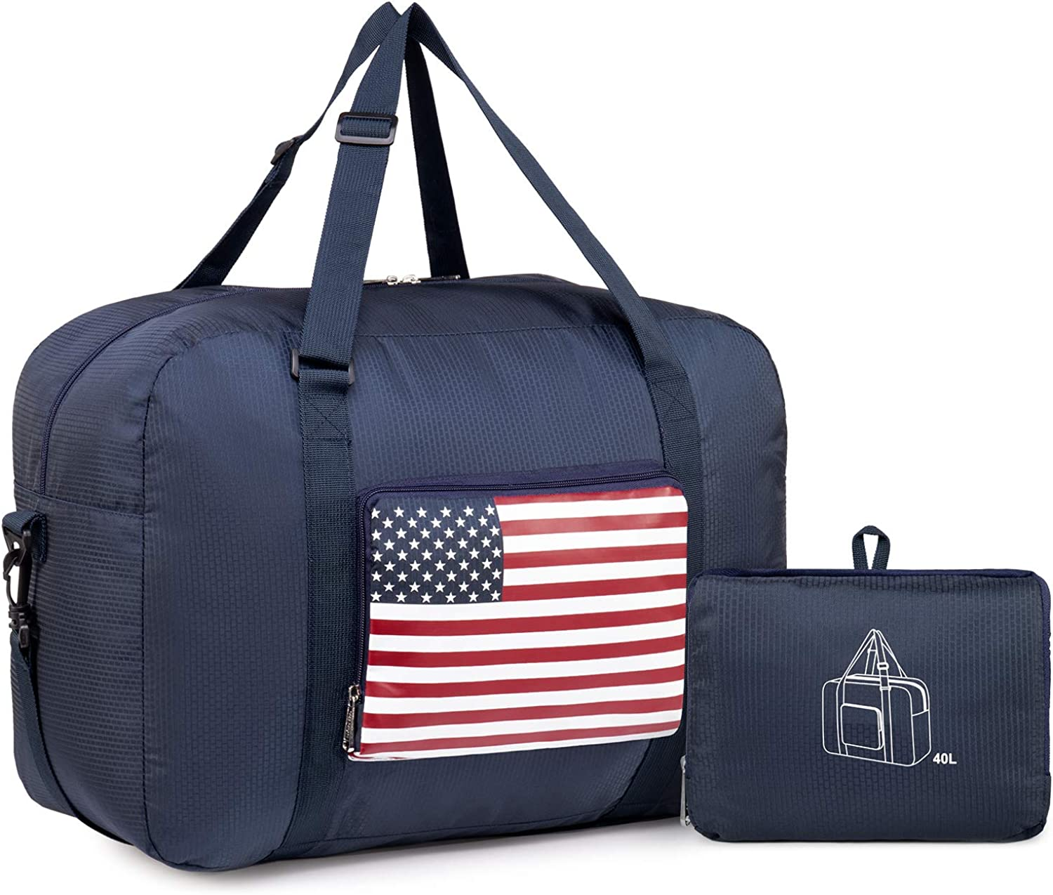 Unisex Travel Carry-on Tote Duffel Unisex Men and Women Canvas Plus Leather Portable Weekend Overnight Travel Bag Sports Duffel Tote Luggage Holdall Handbag Shoulder Bags Weekender Overnight Tote Lugg