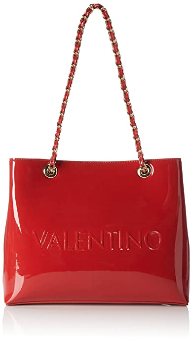 432a3d987ef Valentino by Mario Valentino Womens VBS1GJ01V Icon Tote Red (ROSSO ...