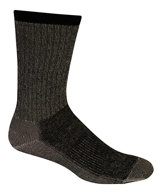 Amazon.com  Merino Wool Hiking Socks (Pack of 3) - Made in USA ... 3ac8598fbf91