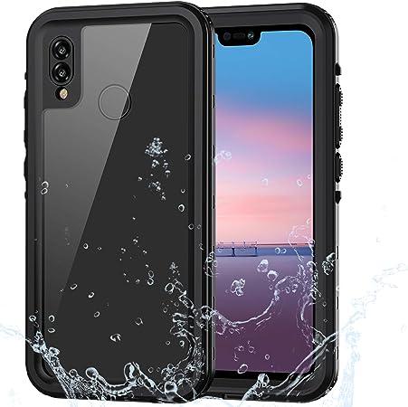 Lanhiem Cover Huawei P20 Lite,Custodia Impermeabile P20 Lite[IP68 Certificato Waterproof] Full Body con Protezione dello Schermo Antiurto Antineve ...