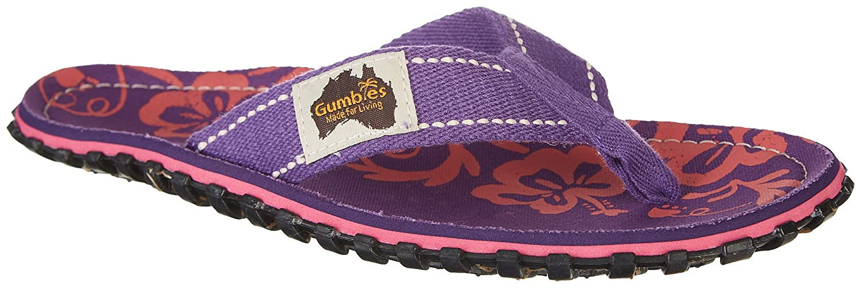 Gumbies Islander Sandale purple hibiscus EU 37 e72ZAU0c5p
