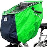 子供乗せ 自転車チャイルドシート レインカバー フロント用 前用